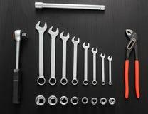 Εργαλεία για την επισκευή αυτοκινήτων Στοκ Εικόνες