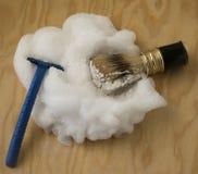 Εργαλεία για το ξύρισμα Στοκ Φωτογραφία