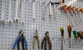 εργαλεία επισκευής ενός μηχανικού εργαστηρίου Στοκ εικόνα με δικαίωμα ελεύθερης χρήσης