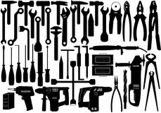 εργαλεία επισκευής Στοκ εικόνες με δικαίωμα ελεύθερης χρήσης