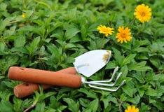 εργαλεία κήπων Στοκ εικόνα με δικαίωμα ελεύθερης χρήσης