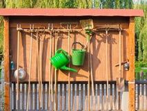 εργαλεία κήπων Στοκ Εικόνες