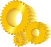 εργαλεία κίτρινα Στοκ Φωτογραφίες