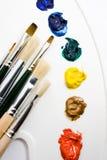 εργαλεία καλλιτεχνών Στοκ Φωτογραφίες