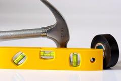 εργαλεία κατασκευής Στοκ Εικόνα