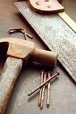 εργαλεία κατασκευής Στοκ Εικόνες