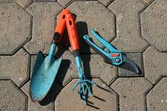 εργαλεία κηπουρικής Στοκ εικόνα με δικαίωμα ελεύθερης χρήσης