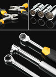 εργαλεία κολάζ Στοκ Εικόνα