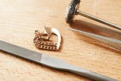 εργαλεία κοσμήματος Στοκ Φωτογραφίες