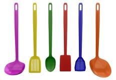 Εργαλεία κουζινών που απομονώνονται Στοκ εικόνες με δικαίωμα ελεύθερης χρήσης