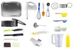 Εργαλεία κουζινών Στοκ Εικόνες