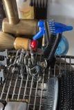 Εργαλεία κουρέων Στοκ Εικόνα