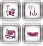 εργαλεία λουτρών απεικόνιση αποθεμάτων