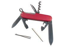 εργαλεία μαχαιριών Στοκ Εικόνα