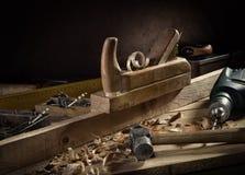 εργαλεία ξυλουργών s Στοκ φωτογραφία με δικαίωμα ελεύθερης χρήσης