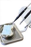 εργαλεία οδοντιάτρων Στοκ Φωτογραφία