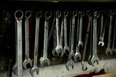 Εργαλεία σε ένα κατάστημα επισκευής Στοκ Εικόνα