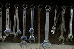 Εργαλεία σε ένα κατάστημα επισκευής Στοκ φωτογραφία με δικαίωμα ελεύθερης χρήσης
