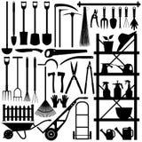 εργαλεία σκιαγραφιών κη& Στοκ Φωτογραφίες