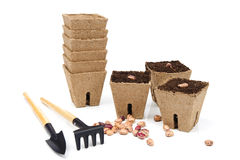 εργαλεία σπόρων κηπουρικής Στοκ φωτογραφία με δικαίωμα ελεύθερης χρήσης