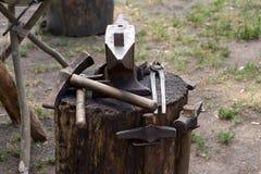 εργαλεία σφυρηλατημένων Στοκ Εικόνες