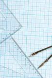 εργαλεία σχεδίων ανασκό&p Στοκ Εικόνες