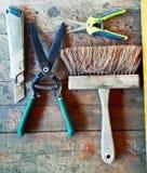 Εργαλεία του εμπορίου μου Στοκ Εικόνες