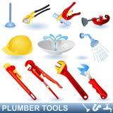 εργαλεία υδραυλικών Στοκ φωτογραφία με δικαίωμα ελεύθερης χρήσης
