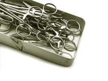 εργαλεία χειρουργικών &e Στοκ Εικόνα