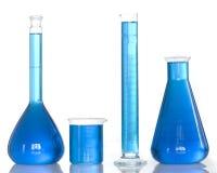 εργαλεία χημείας Στοκ φωτογραφία με δικαίωμα ελεύθερης χρήσης