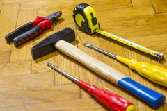 Εργαλεία Στοκ εικόνα με δικαίωμα ελεύθερης χρήσης