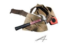 εργαλεία carpentery Στοκ εικόνες με δικαίωμα ελεύθερης χρήσης