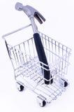 εργαλείο αγορών κάρρων Στοκ φωτογραφία με δικαίωμα ελεύθερης χρήσης