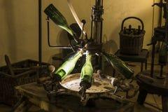 Εργαλείο κατασκευής κρασιού CHAMPAGNE Στοκ Εικόνα