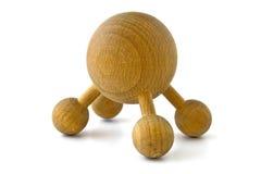 εργαλείο μασάζ ξύλινο Στοκ εικόνα με δικαίωμα ελεύθερης χρήσης