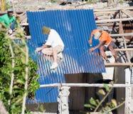 Εργασία ανακούφισης του Matthew τυφώνα Στοκ Εικόνες