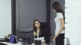 εργασία ανθρώπων επιχειρ&e απόθεμα βίντεο