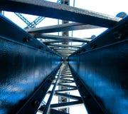 Εργασία γεφυρών στοκ εικόνες