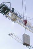 Εργασία για την κατασκευή ενός εμπορικού κέντρου σε Kharkiv Στοκ Φωτογραφίες
