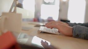 Εργασία γραφείων απόθεμα βίντεο