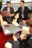 εργασία γραφείων επιχειρησιακών ατόμων Στοκ Εικόνα