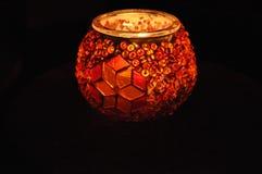 Εργασία γυαλιού - καταπληκτική πυράκτωση κεριών Στοκ φωτογραφία με δικαίωμα ελεύθερης χρήσης