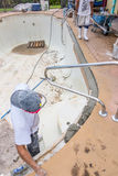Εργασία επισκευής ακτίνων λιμνών στοκ φωτογραφία με δικαίωμα ελεύθερης χρήσης
