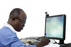 Εργασία επιχειρηματιών στην αρχή στοκ φωτογραφίες με δικαίωμα ελεύθερης χρήσης