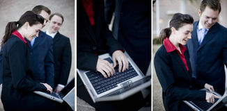 εργασία επιχειρησιακών &omi στοκ εικόνες με δικαίωμα ελεύθερης χρήσης