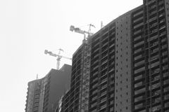 Εργασία εργοτάξιων οικοδομής οικοδόμησης Στοκ φωτογραφία με δικαίωμα ελεύθερης χρήσης