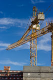 εργασία εργοτάξιων οικοδομής Στοκ Εικόνες