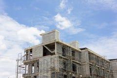 Εργασία εργοτάξιων οικοδομής οικοδόμησης Στοκ Φωτογραφίες