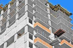 Εργασία εργοτάξιων οικοδομής Στοκ Φωτογραφία