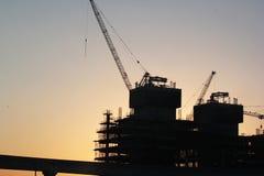 Εργασία εργοτάξιων οικοδομής Στοκ Φωτογραφίες